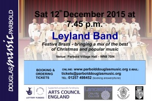Douglas Music Concert Season @ Parbold Village Hall   Parbold   United Kingdom