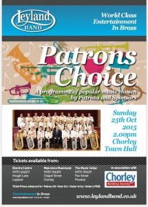 Patrons Choice Matinee poster