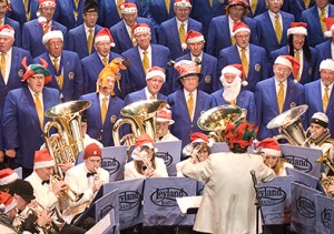 Christmas Voices Christmas Brass @ Parr Hall , Warrington   Warrington   United Kingdom