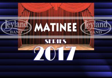2017 Matinee Concert Series Romantic Beginnings