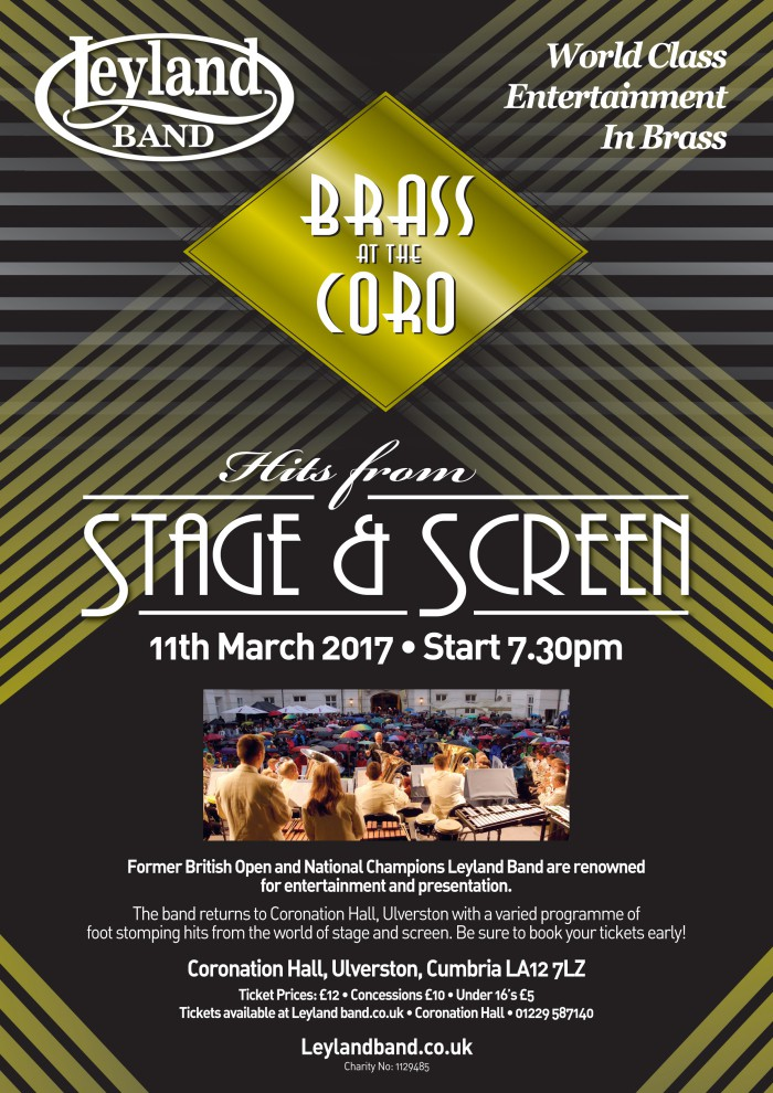 Brass at the Coro @ Coronation Hall | Ulverston | England | United Kingdom