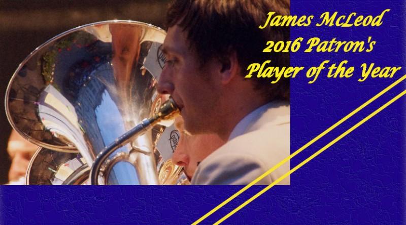 James is Patron's favourite