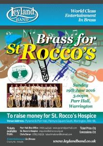 Brass for St Rocco's @ Parr Hall, Warrington   Warrington   United Kingdom