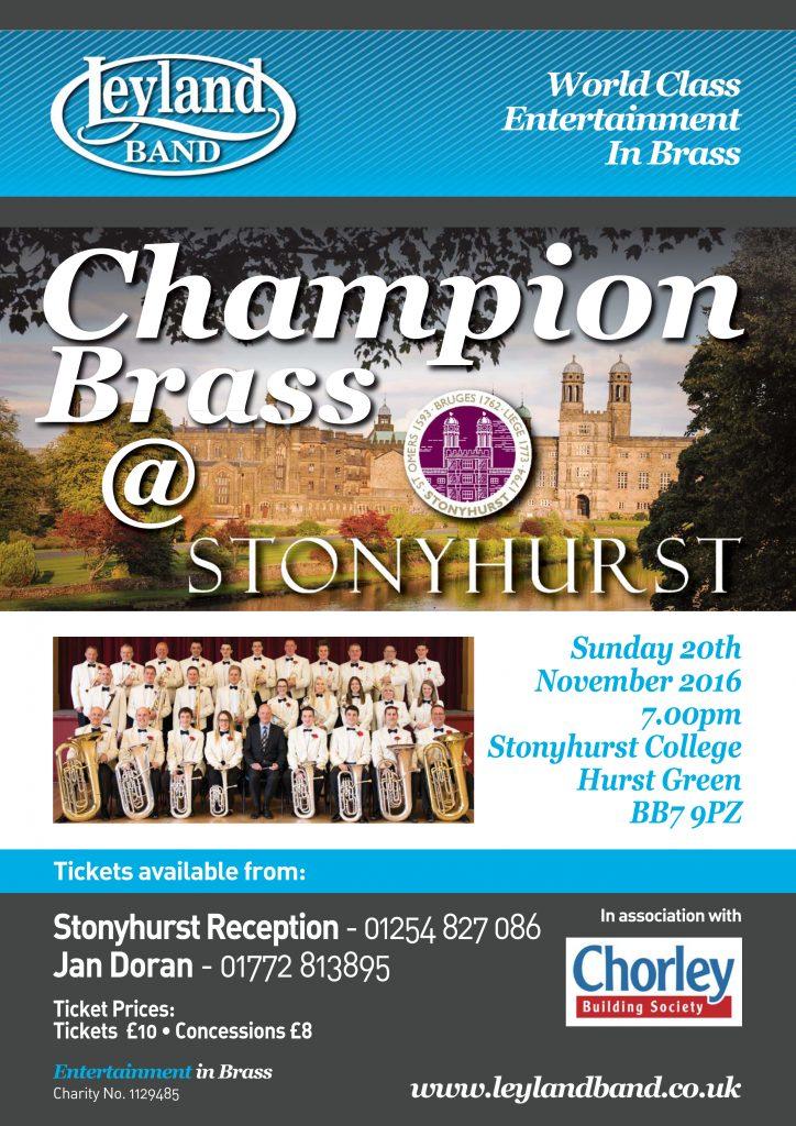 Stonyhurst Gala Concert @ Stonyhurst College   England   United Kingdom