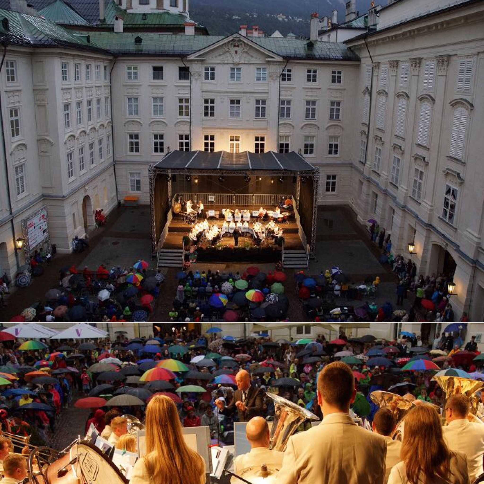 Innsbruck offers Austrian appearance for Leyland Band