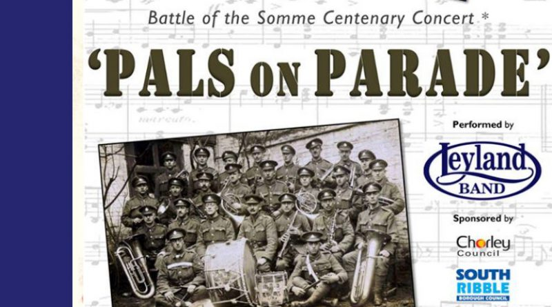 'Pals' Somme Tribute