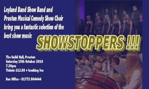 Showstoppers!!! - Preston Arts Festival @ The Guild Hall | Preston | England | United Kingdom