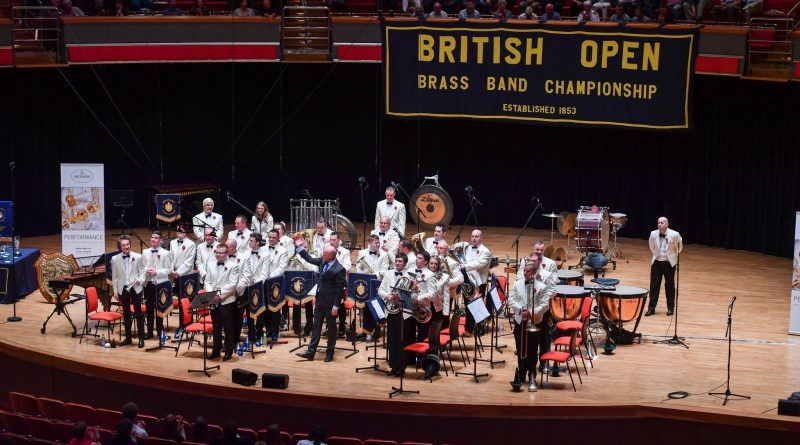 7th Place at the 2016 British Open Brass Band Championships