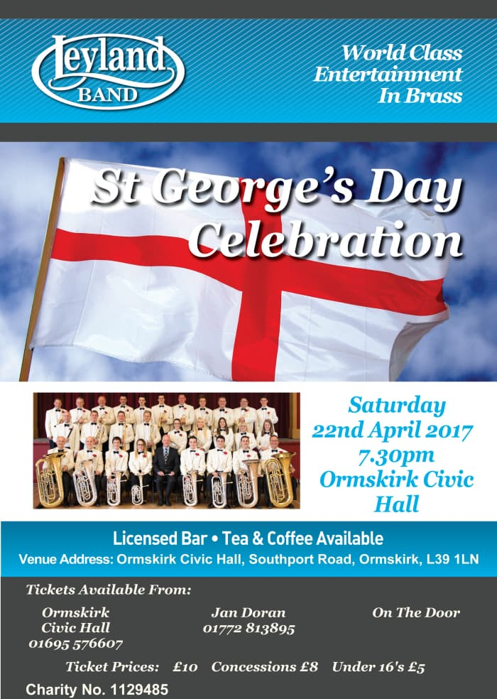 St Georges Flyer A4 2017 ORMSKIRK web