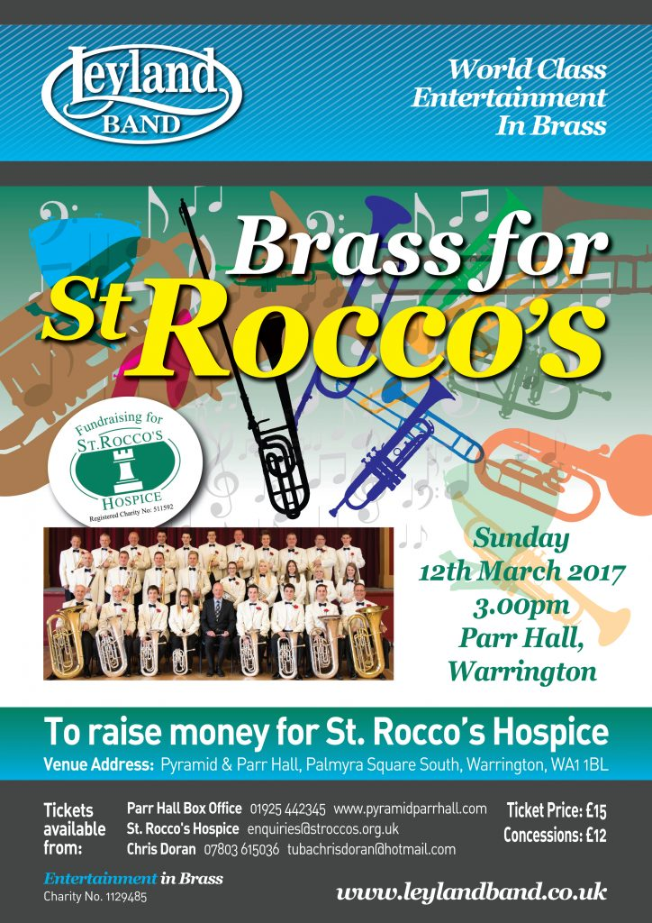 Brass for St Rocco's @ Parr Hall | Warrington | England | United Kingdom